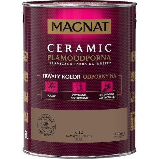 MAGNAT Ceramic 5L C12 Kawowy Onyks