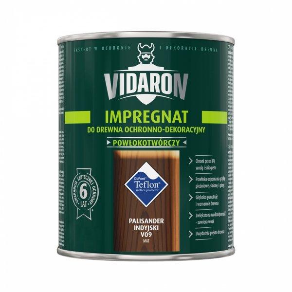Vidaron Impregnat 9L V09 Palisander Indyjski do drewna powłokotwórczy