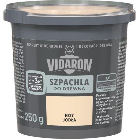 Vidaron Szpachla Drewna 0,25kg JODŁA H07 szpachlówka
