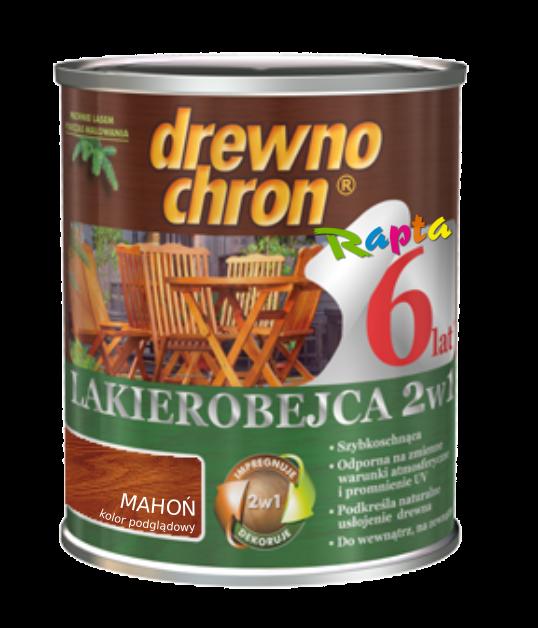 Drewnochron 2w1 Lakierobejca MAHOŃ 2,5L drewna do