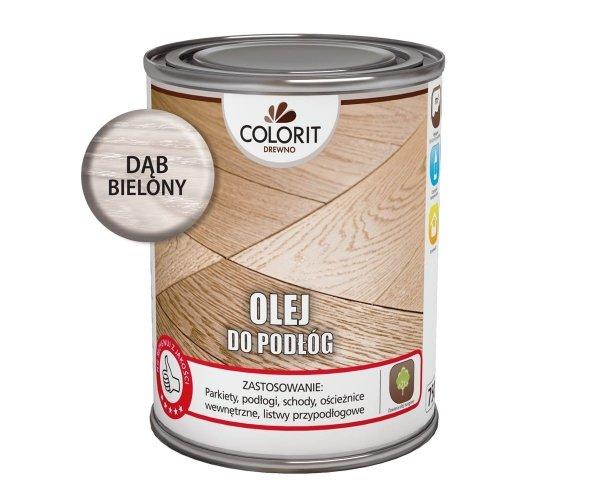 Colorit Olej Do Podłóg 0,75L DĄB BIELONY Drewna 750ml