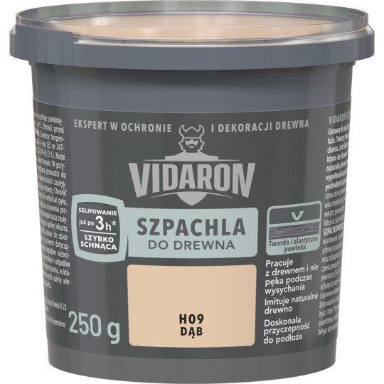 Vidaron Szpachla Drewna 0,25kg DĄB H09 szpachlówka
