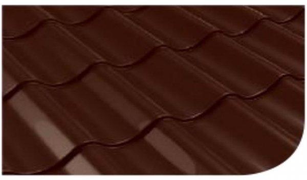 Śnieżka na dach Brązowy Ciemny 5L RAL8017 farba