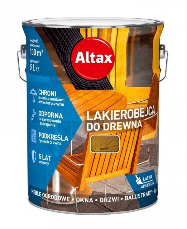 Altax Lakierobejca Drewna 5L ORZECH niebieska