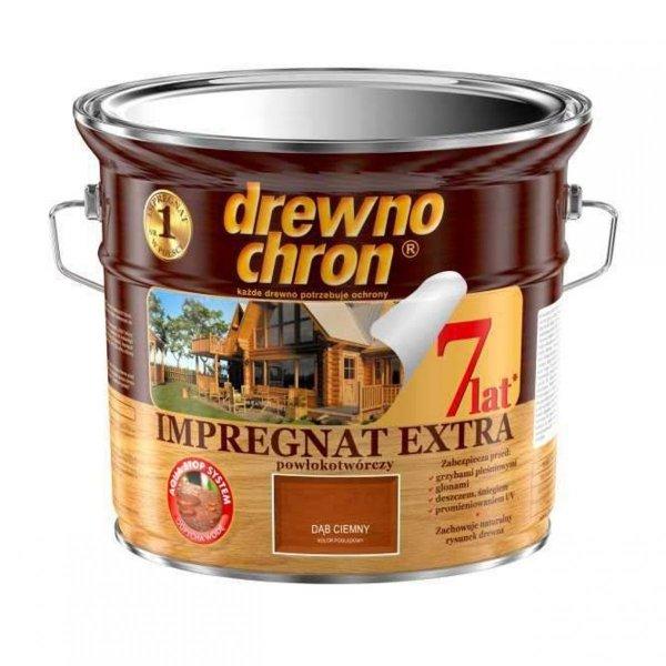Drewnochron DĄB CIEMNY 2,5L Impregnat Extra drewna do