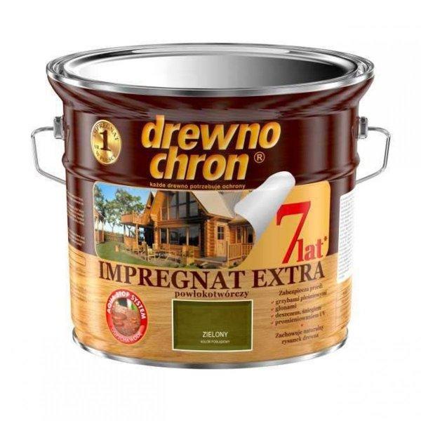 Drewnochron ZIELONY 2,5L Impregnat Extra drewna do