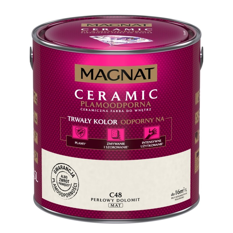 MAGNAT Ceramic 2,5L C48 Perłowy Dolomit