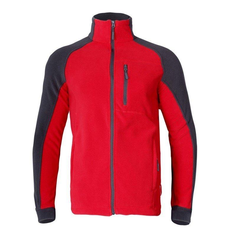LAHTI PRO Bluza robocza ochronna XL polar czerwono-szara