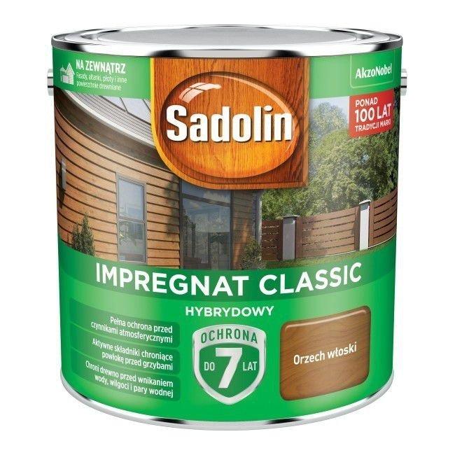 Sadolin Classic impregnat 2,5L ORZECH WŁOSKI 4 drewna clasic