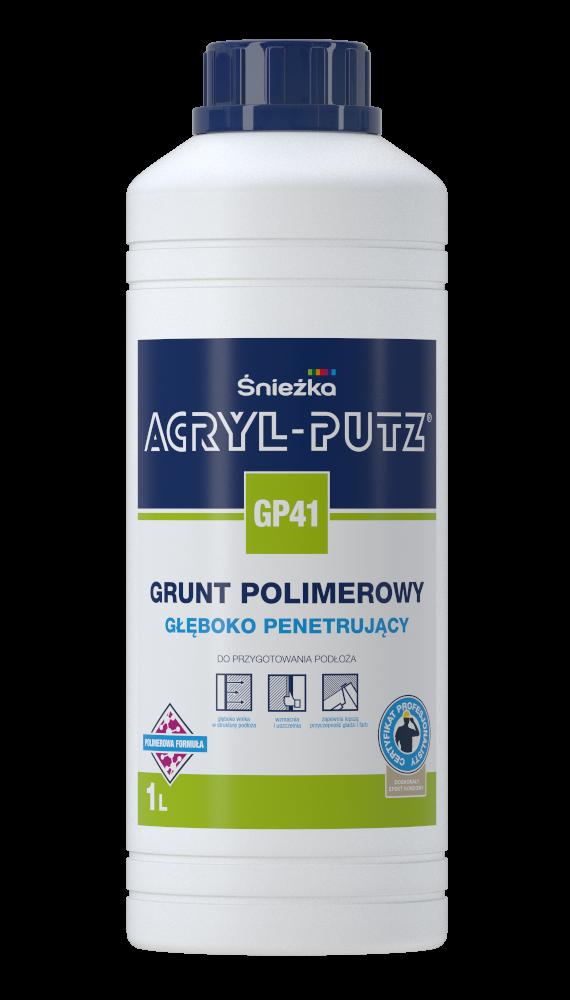 Acryl-Putz Grunt Polimerowy 1L GP41 Głęboko Penetrujący mleczko unigrunt