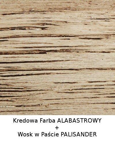 Colorit Kredowa Drewna 375ml ALABASTROWY BIAŁY mebli farba do