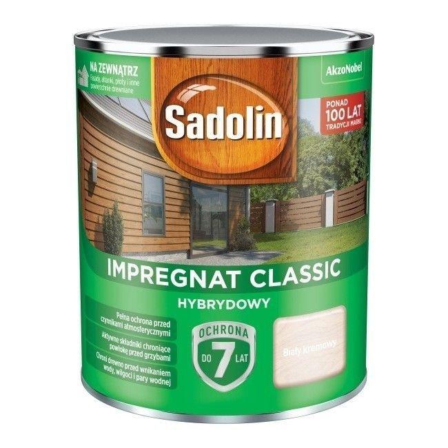 Sadolin Classic impregnat 0,75L BIAŁY KREMOWY 99 drewna clasic