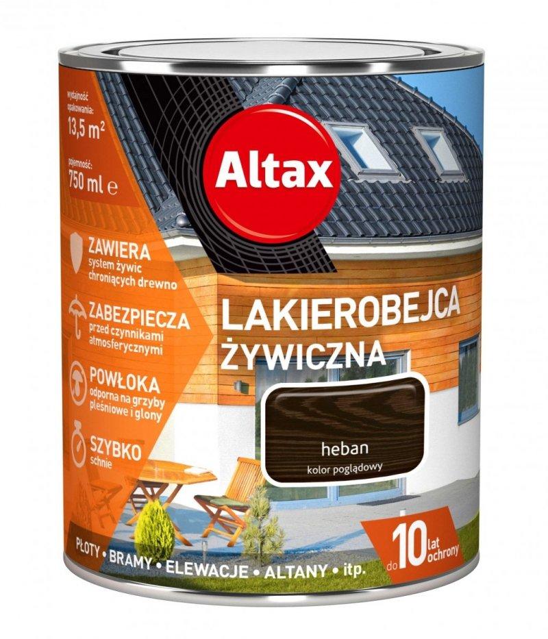 Altax Lakierobejca 0,75L HEBAN Żywiczna Drewna Szybkoschnąca