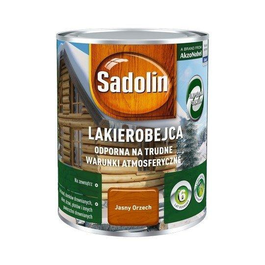 Sadolin Odporna lakierobejca 0,75L ORZECH JASNY drewna