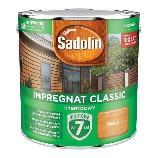 Sadolin Classic impregnat 2,5L PINIOWY PINIA 2 drewna clasic