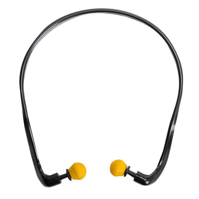LAHTI PRO Zatyczki piankowe uszu kabłąk BHP ochronne przeciwhałasowe wygłuszające