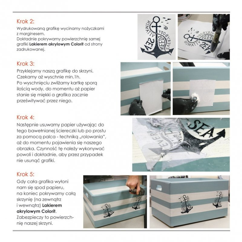 Colorit Lakier Akrylowy Drewna 0,75L POŁYSK 750ml BEZBARWNY z filtrami UV do wewnątrz i na zewnątrz nieżółknący