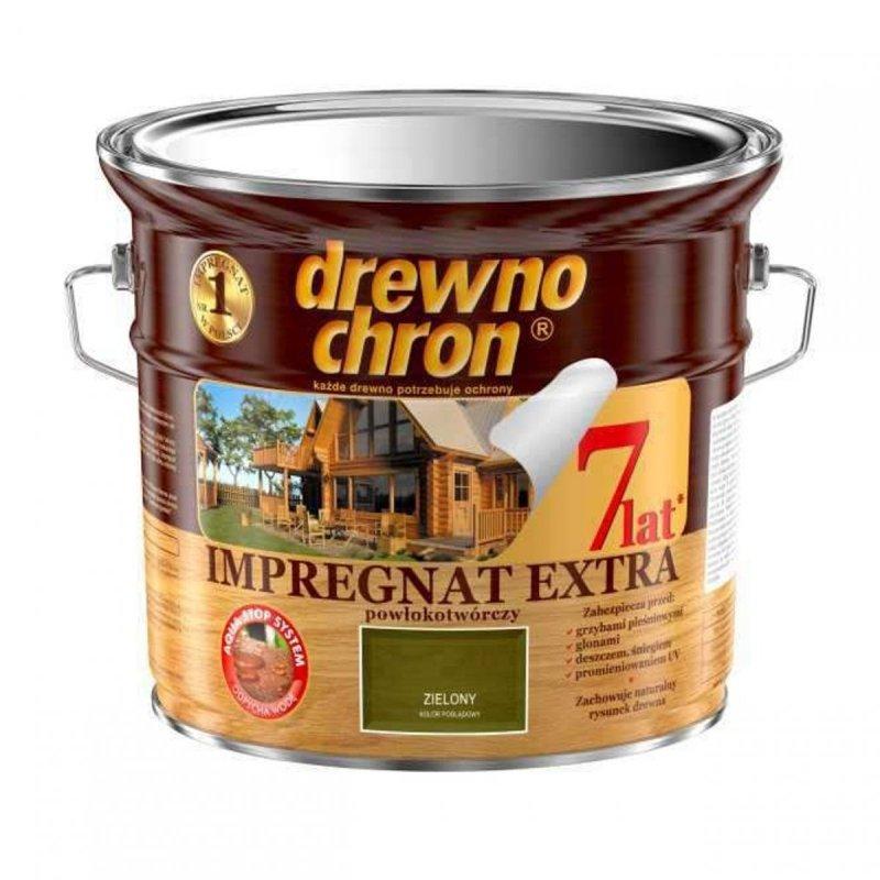 Drewnochron ZIELONY 2,5L Impregnat Extra drewna do powłokotwórczy