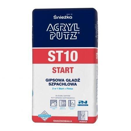 Acryl-Putz Gładź szpachlowa ST10 5kg sypka Start+Finish