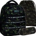 Plecak Kmuflaż BackUP Kamuflaż Taktyczny Młodzieżowy Szkolny [PLB3I22]