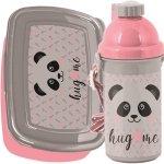 Śniadaniówka Bidon Miś Panda dla Dziewczynki [PP20PA-3022]
