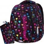 Młodzieżowy Plecak Cp CoolPack Cats z Kotkami dla Dziewczyny [B25046]