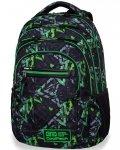 Cp CoolPack Plecak Młodzieżowy Szkolny ELECTRIC GREEN [B36099]