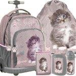 Plecak z Kołami Kot Kotek dla Dziewczyny [RLD-887]