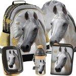 Plecak Szkolny dla Dziewczynki Szkolny Komplet w Konie [PP19H-116]