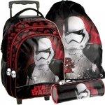 Plecak z Kółkami Szkolny Star Wars Komplet Chłopięcy [STP-300]