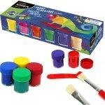 Farby Plakatowe 12 Kolorów 20ml Kidea dla Dzieci [FP12KKA]