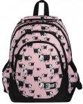 St.Right Plecak Młodzieżowy Szkolny Dogs z Pieskiem [BP6]