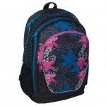 Plecak Szkolny Młodzieżowy Sportowy Kwiaty (14-367B)