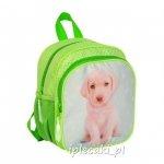 PLECACZEK mały plecak Z PIESKIEM Pies