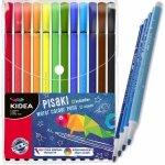 Flamastry dla Dzieci Pisaki Mazaki Kidea 12 Kolorów [PI12KA]