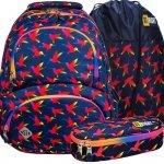 St.Right Plecak Młodzieżowy Szkolny Rainbow Birds [BP7]