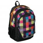 Plecak w Kratkę Szkolny Młodzieżowy dla Dziewczyny 15-367B