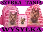 Zestaw Szkolny 3w1: plecak szkolny+piórnik z wyposażeniem+worek gimnastyczny z Pieskiem Pies Piesek