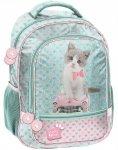 Dziewczęcy Plecak Szkolny z Kotem Kotkiem [PET-260]