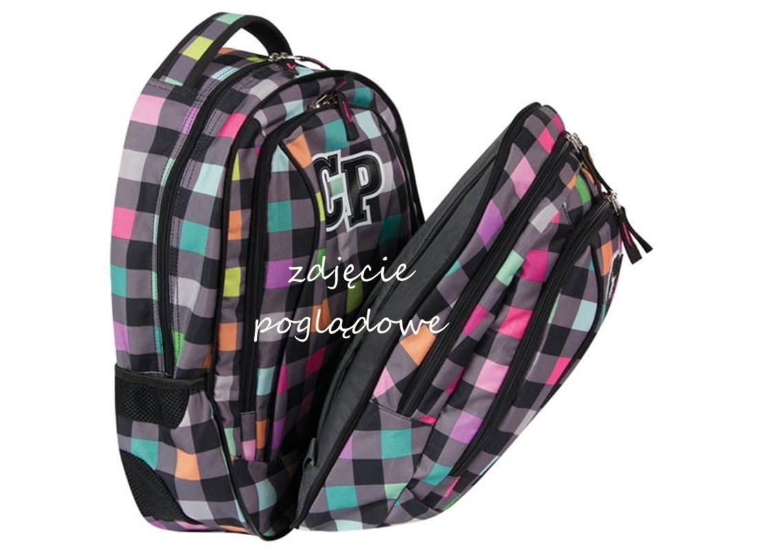 42ccc648f055e Plecak 2w1 Młodzieżowy CP CoolPack Szkolny w Kratkę iplecaki.pl
