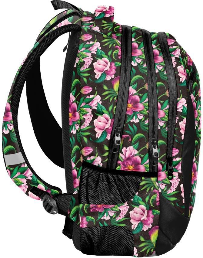 0dcfd91900373 Plecak Kwiaty Młodzieżowy Szkolny dla Dziewczynki [PPLK19-2808 ...