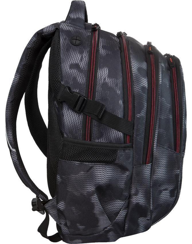 c8f7055fbba1c Coolpack Cp Plecak dla Chłopaka Młodzieżowy Szkolny MISTY RED [B02006]
