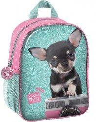 Plecaczek Przedszkolny na Wycieczki Pies Chihuahua [PTE-303]