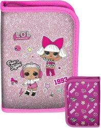 Piórnik Lol Surprise dla Dziewczynki Rozkładany Różowy [LOA-001BW]