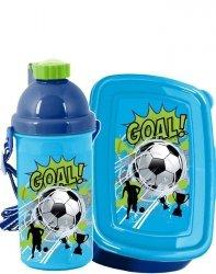 Śniadaniówka Bidon dla Chłopaka Football z Piłką [PP19PI-3022]