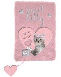 Pamiętnik Pluszowy z Kotem dla Dziewczyny [PLC-3670]