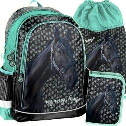Plecak Konie Koń dla Dziewczyny Komplet [PP19KN-081]