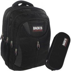 Plecak Młodzieżowy BackUP Czarny Sportowy Komlet [PLB1E27]