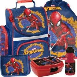Tornister do Szkoły Spiderman Zestaw dla Chłopaka [SPU-525]