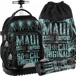 Plecak z Kołami Młodzieżowy Maui&Sons Szkolny [MAUD-1231]